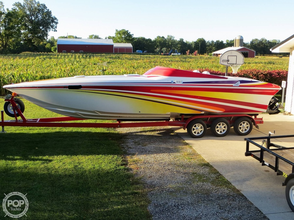 2007 Sunsation boat for sale, model of the boat is 32 Dominator SS & Image # 15 of 40