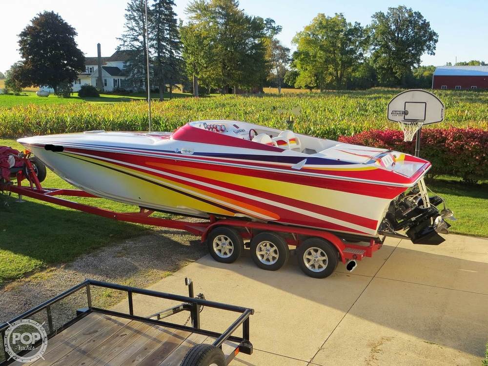2007 Sunsation boat for sale, model of the boat is 32 Dominator SS & Image # 16 of 40