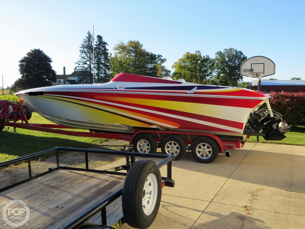 2007 Sunsation boat for sale, model of the boat is 32 Dominator SS & Image # 17 of 40