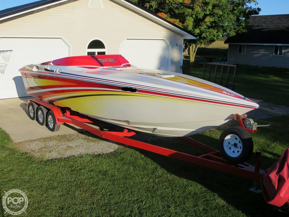 2007 Sunsation boat for sale, model of the boat is 32 Dominator SS & Image # 19 of 40