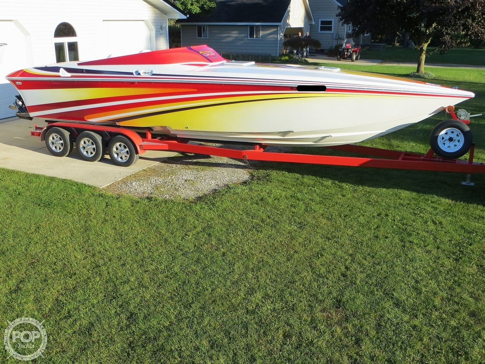 2007 Sunsation boat for sale, model of the boat is 32 Dominator SS & Image # 20 of 40