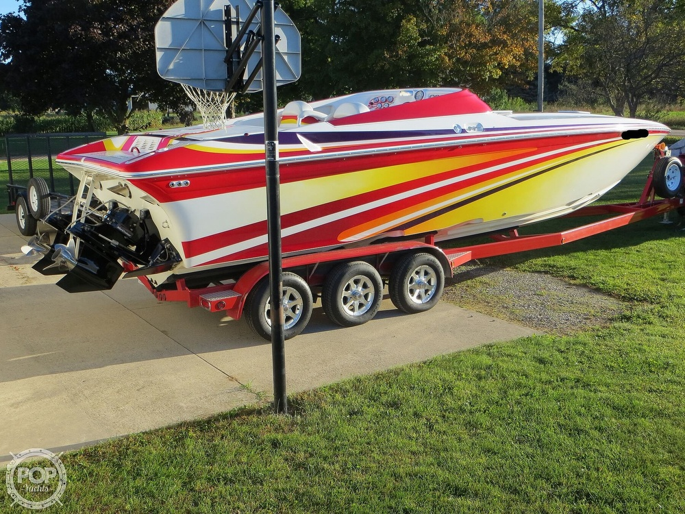 2007 Sunsation boat for sale, model of the boat is 32 Dominator SS & Image # 22 of 40