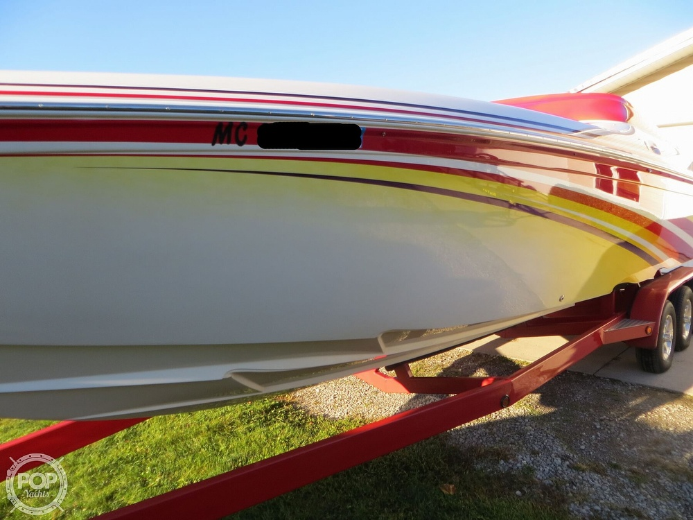 2007 Sunsation boat for sale, model of the boat is 32 Dominator SS & Image # 25 of 40