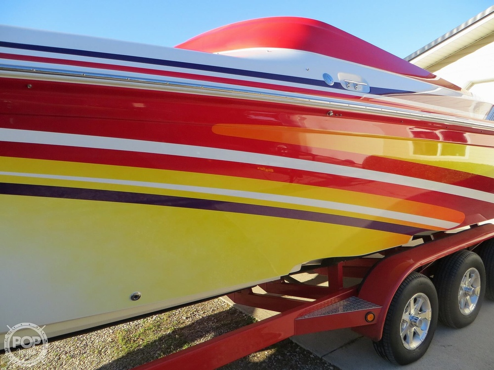 2007 Sunsation boat for sale, model of the boat is 32 Dominator SS & Image # 26 of 40