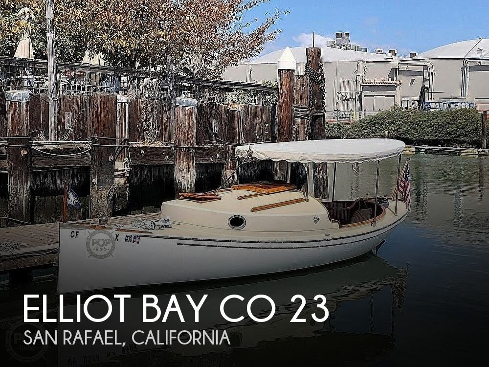 2004 Elliot Bay Co boat for sale, model of the boat is 23 Cabin Launch & Image # 1 of 40