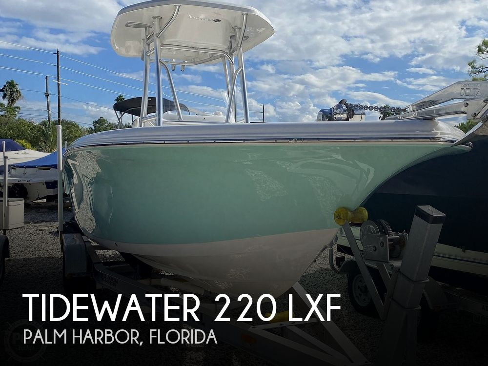 2017 TIDEWATER 220 LXF for sale