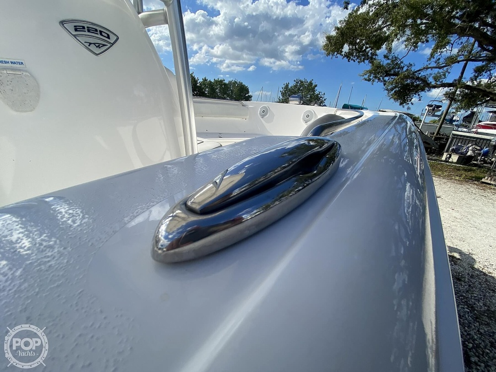 2017 Tidewater boat for sale, model of the boat is 220 LXF & Image # 13 of 40