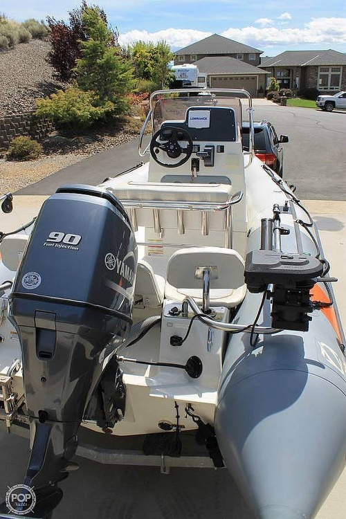 2014 Zodiac boat for sale, model of the boat is Pro Open 550 Neo & Image # 4 of 10