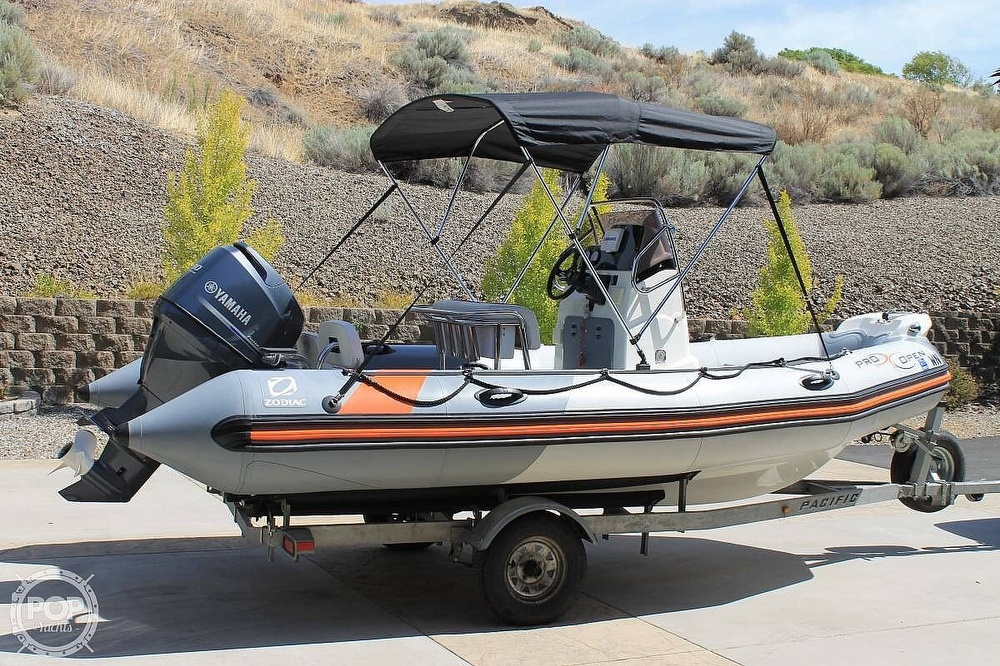 2014 Zodiac boat for sale, model of the boat is Pro Open 550 Neo & Image # 5 of 10