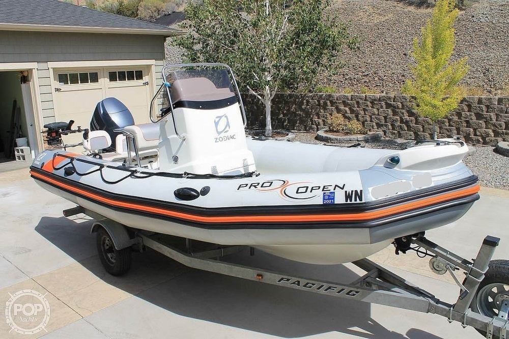 2014 Zodiac boat for sale, model of the boat is Pro Open 550 Neo & Image # 7 of 10