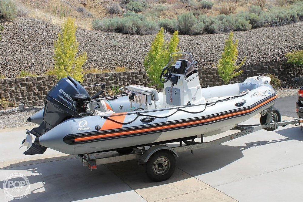 2014 Zodiac boat for sale, model of the boat is Pro Open 550 Neo & Image # 9 of 10