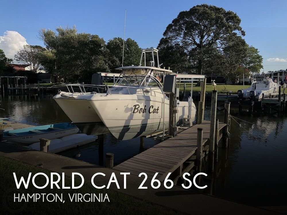 2000 WORLD CAT 266 SC for sale