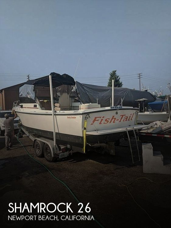 Used Shamrock Boats For Sale by owner | 1989 Shamrock 26