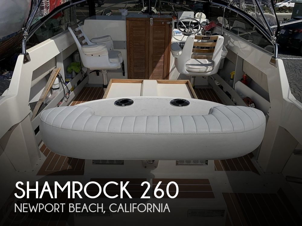 1989 Shamrock boat for sale, model of the boat is 260 & Image # 1 of 40