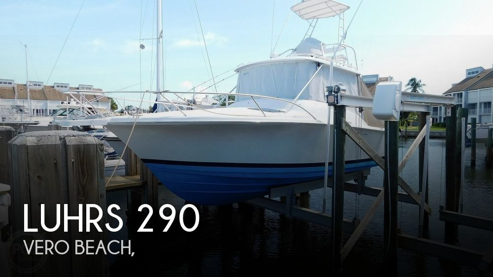 1997 Luhrs boat for sale, model of the boat is 290 Open Tournament & Image # 1 of 40