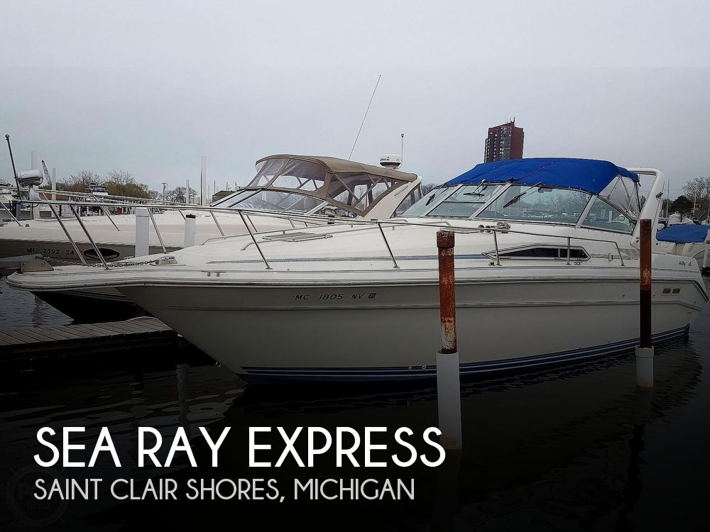 Used Sea Ray Boats For Sale in Flint, Michigan by owner | 1991 37 foot Sea Ray Express
