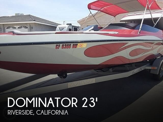 Used Dominator Boats For Sale in California by owner | 2006 Dominator 23
