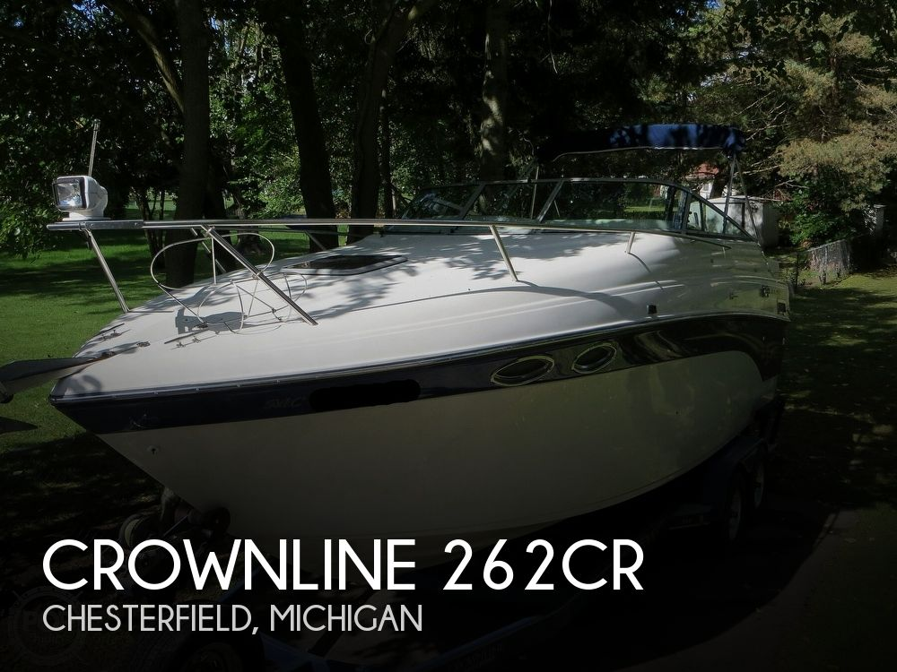 2001 Crownline boat for sale, model of the boat is 262CR & Image # 1 of 40