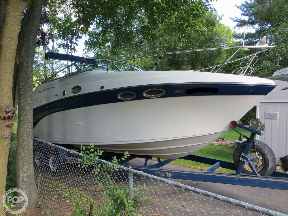 2001 Crownline boat for sale, model of the boat is 262CR & Image # 18 of 40