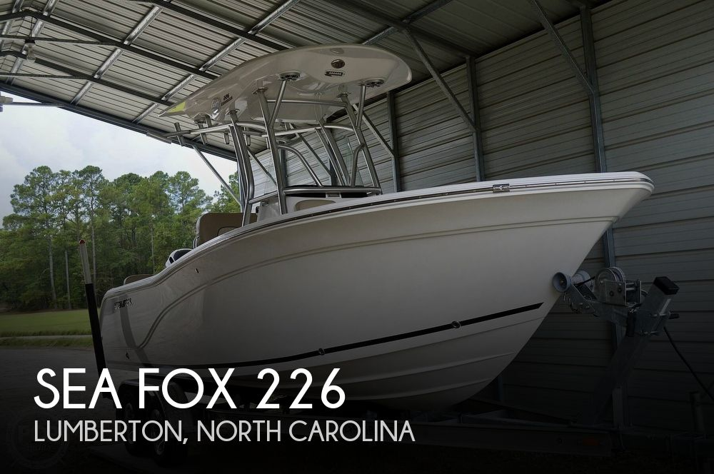 2017 SEA FOX 226 COMMANDER for sale