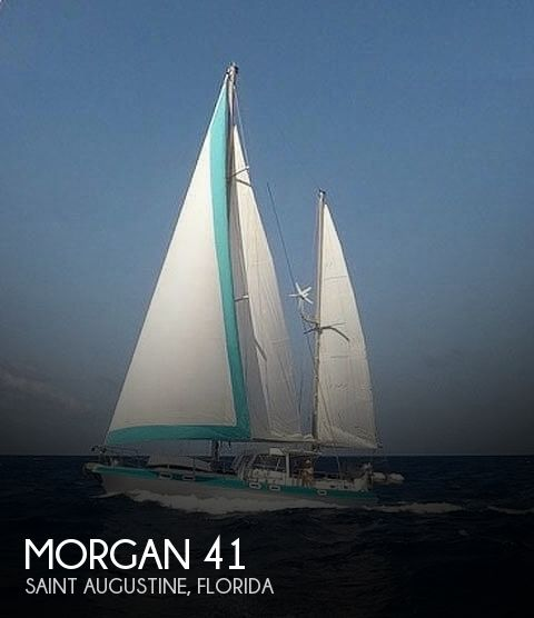 1981 Morgan boat for sale, model of the boat is 41 & Image # 1 of 40