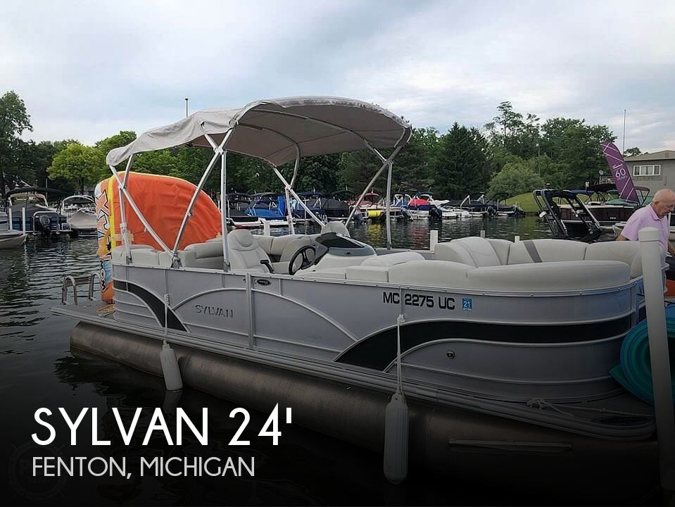 Used Sylvan Boats For Sale in Michigan by owner | 2018 Sylvan Mirage 8522LZ