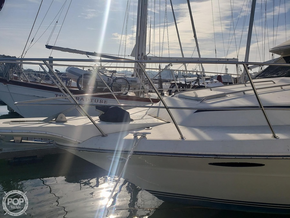 1986 Sea Ray boat for sale, model of the boat is 410 Aft Cabin & Image # 4 of 40