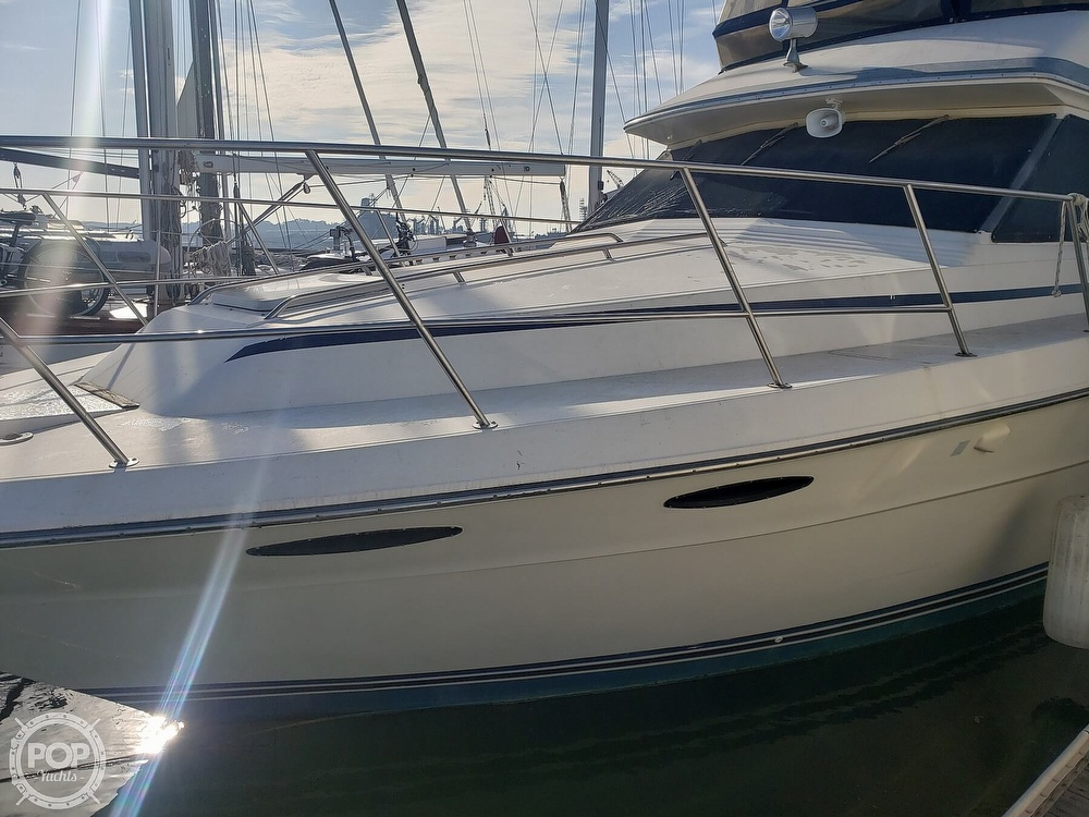 1986 Sea Ray boat for sale, model of the boat is 410 Aft Cabin & Image # 7 of 40