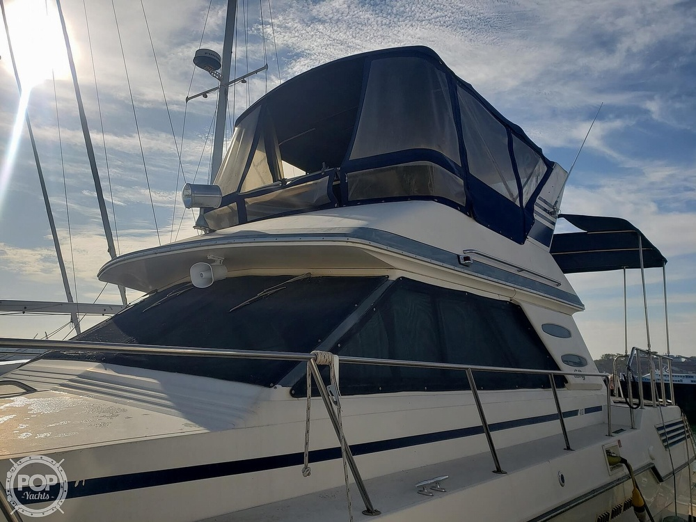 1986 Sea Ray boat for sale, model of the boat is 410 Aft Cabin & Image # 9 of 40