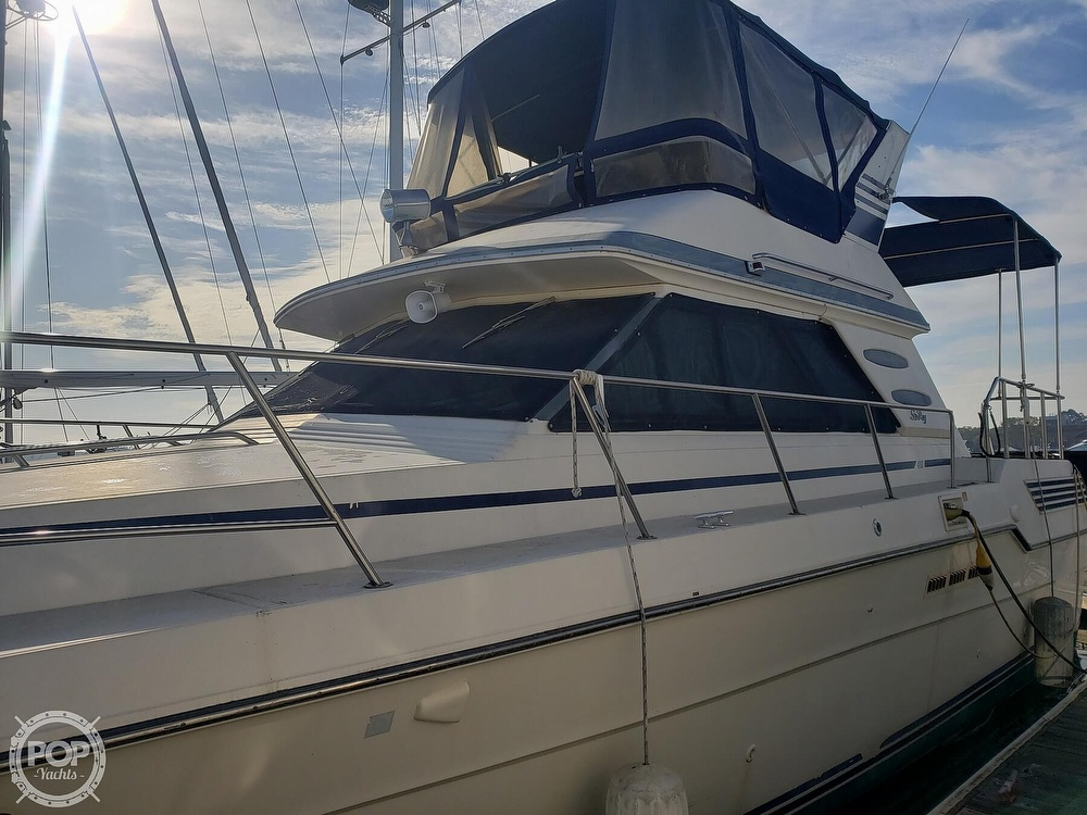 1986 Sea Ray boat for sale, model of the boat is 410 Aft Cabin & Image # 10 of 40