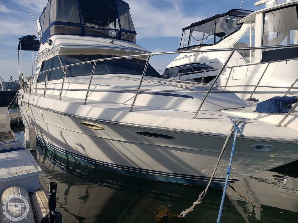 1986 Sea Ray boat for sale, model of the boat is 410 Aft Cabin & Image # 22 of 40