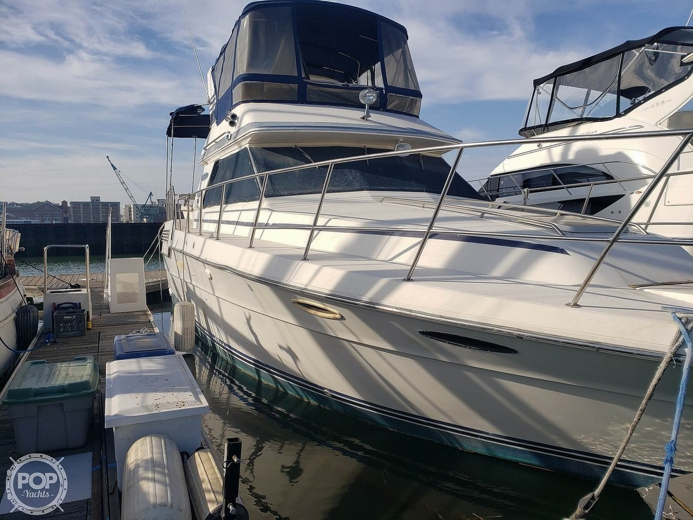1986 Sea Ray boat for sale, model of the boat is 410 Aft Cabin & Image # 23 of 40