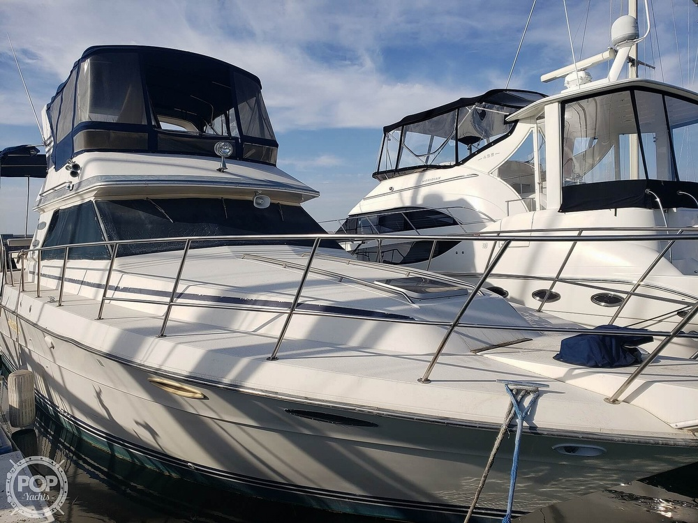1986 Sea Ray boat for sale, model of the boat is 410 Aft Cabin & Image # 2 of 40