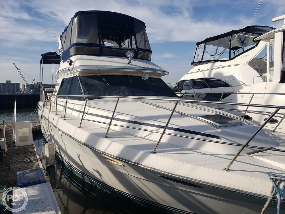 1986 Sea Ray boat for sale, model of the boat is 410 Aft Cabin & Image # 25 of 40