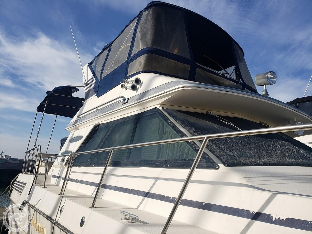 1986 Sea Ray boat for sale, model of the boat is 410 Aft Cabin & Image # 32 of 40