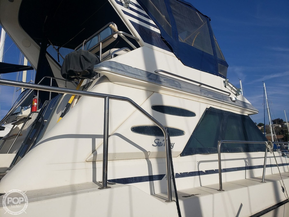 1986 Sea Ray boat for sale, model of the boat is 410 Aft Cabin & Image # 39 of 40
