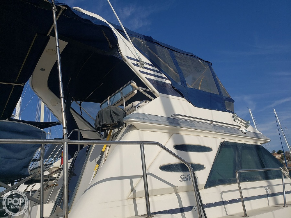 1986 Sea Ray boat for sale, model of the boat is 410 Aft Cabin & Image # 40 of 40