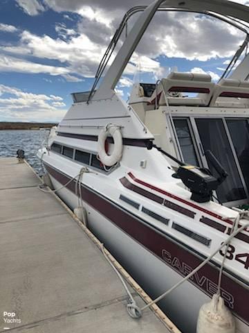 1990 Carver boat for sale, model of the boat is 3467 Santego & Image # 4 of 6