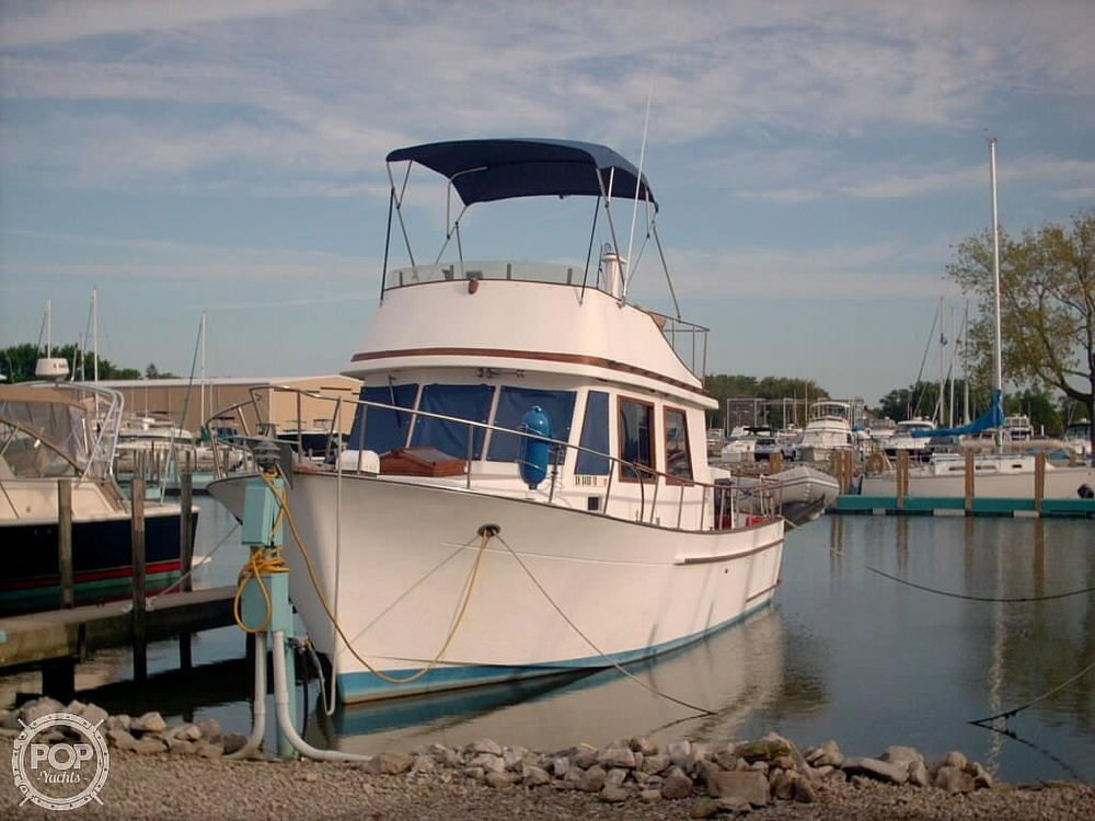 1982 Marine Trader boat for sale, model of the boat is 34 Double Cabin & Image # 2 of 20