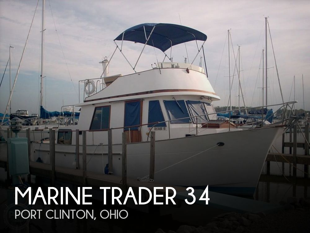 1982 Marine Trader boat for sale, model of the boat is 34 Double Cabin & Image # 1 of 20