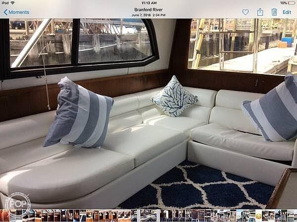 1988 Egg Harbor boat for sale, model of the boat is 43 Sportfish & Image # 29 of 40