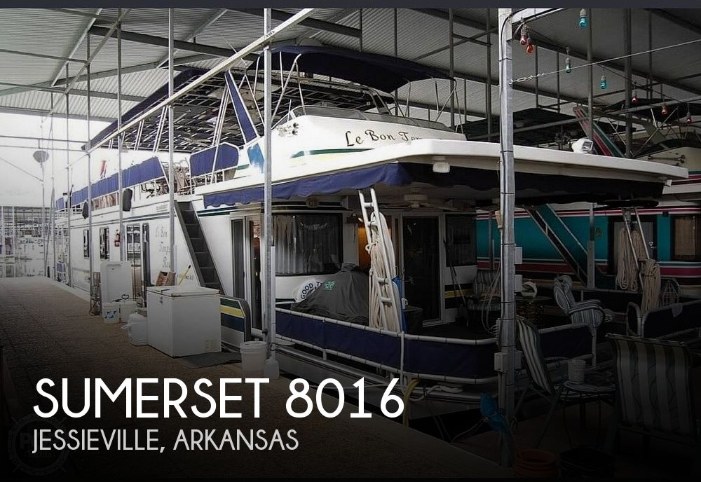 Used Houseboats For Sale by owner | 1999 Sumerset 8016