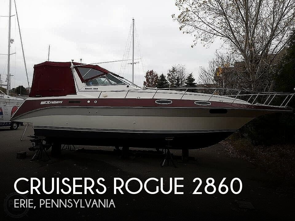 1988 Cruisers Yachts boat for sale, model of the boat is Rogue 2860 & Image # 1 of 19
