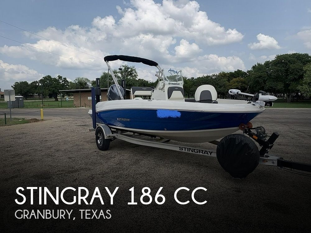 2018 Stingray boat for sale, model of the boat is 186 CC & Image # 1 of 40