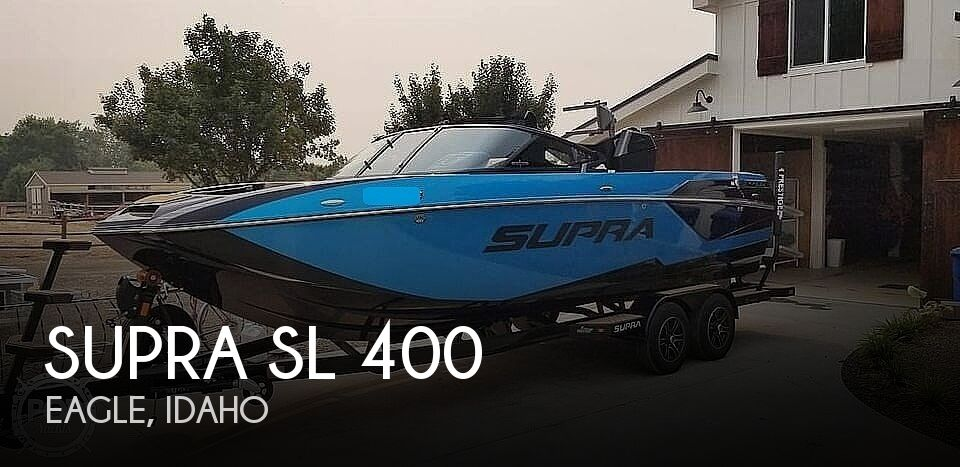 Used Boats For Sale in Boise, Idaho by owner | 2020 Supra SL 400