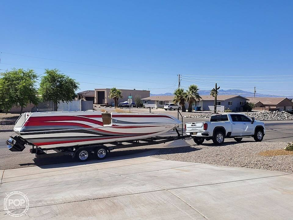 2003 Advantage boat for sale, model of the boat is Party Cat 28XL & Image # 2 of 4