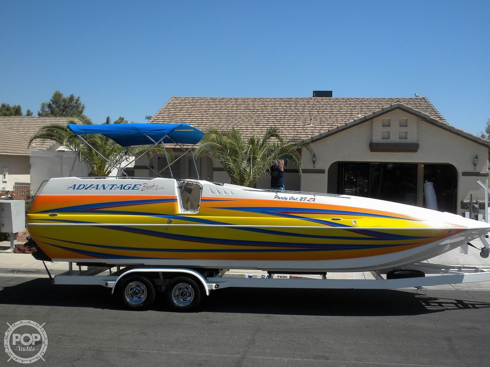 2007 Advantage boat for sale, model of the boat is Party Cat 27 LX & Image # 2 of 40