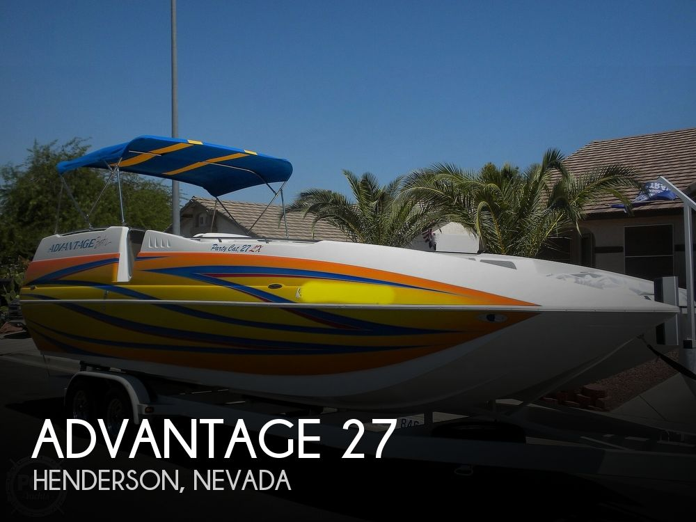 2007 Advantage boat for sale, model of the boat is Party Cat 27 LX & Image # 1 of 40