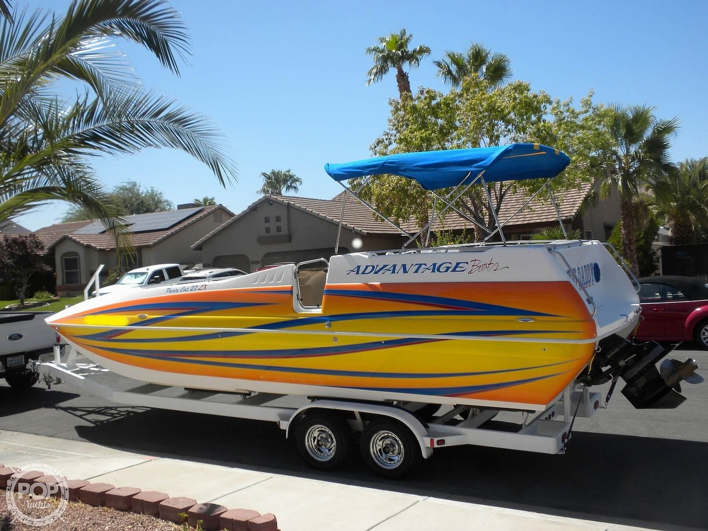 2007 Advantage boat for sale, model of the boat is Party Cat 27 LX & Image # 8 of 40