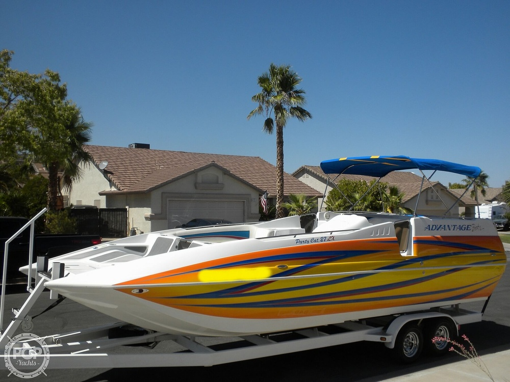 2007 Advantage boat for sale, model of the boat is Party Cat 27 LX & Image # 12 of 40